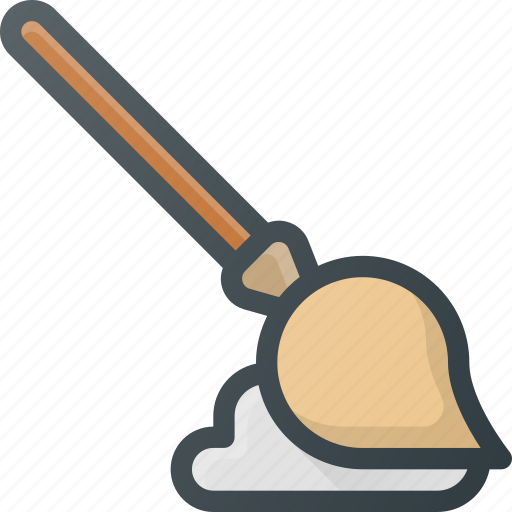 broom, cleaner, cleaning, mop, tool icon