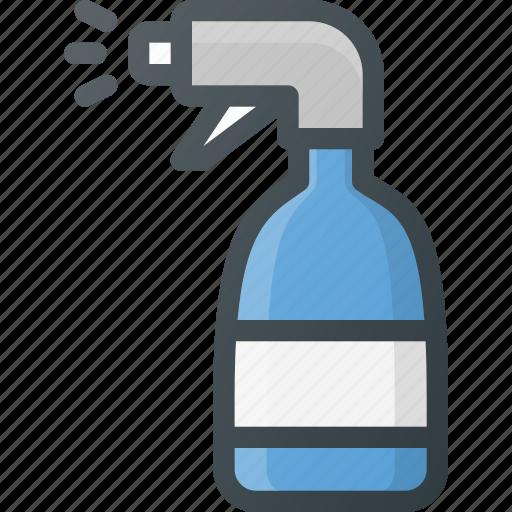 cleaner, cleaninh, detergent, spray, sprinkler, window icon