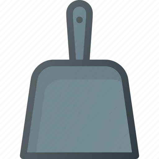 clean, cleaning, dust, dustpan, pan, sweep, tool icon