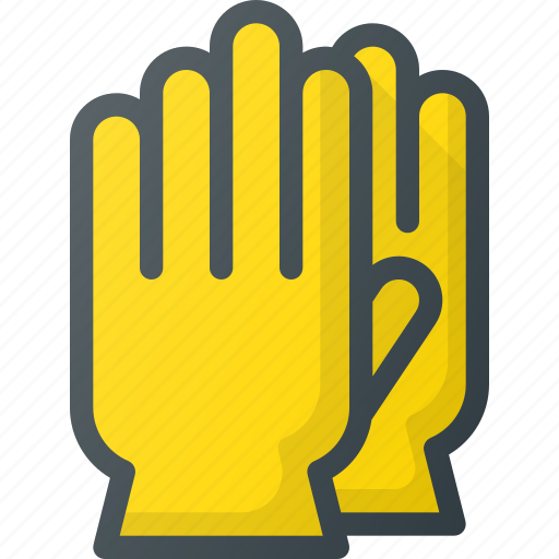 clean, cleaning, gloves, housekeeping, wash icon