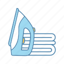 appliance, electric, electronic, household, iron, ironing, steam icon