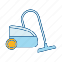 appliance, cleaning, dry, floor, household, vacuum cleaner, wet icon