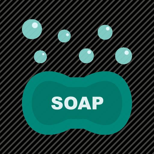 bubbles, clean, foam, liquid, soap, water, wet icon