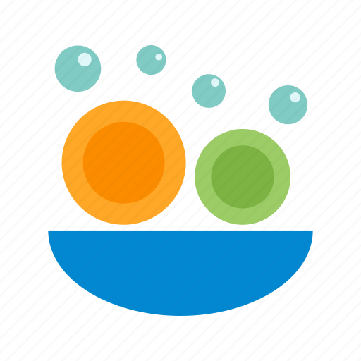 clean, dishes, home, kitchen, plate, washing, water icon