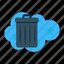 bin, container, garbage, household, rubbish, trash, waste