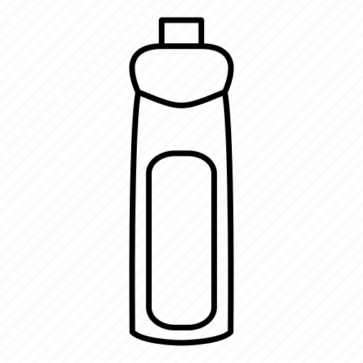 bottle, cleaning, liquid, product icon