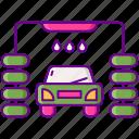 car, wash, vehicle