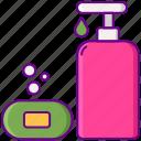 soap, wash, clean