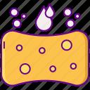 sponge, cleaning, washing