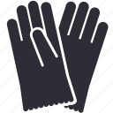 cleaning, gloves, hardware, protective, safety, washing icon