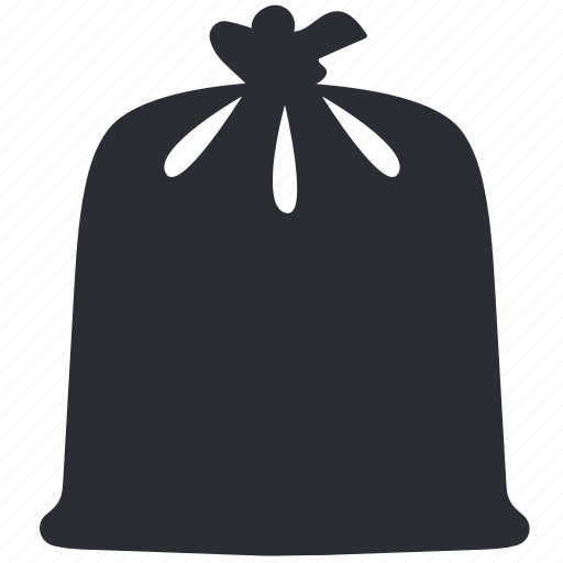 bag, clean, cleaning, disposal, garbage, trash, waste icon