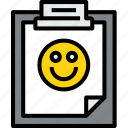 agenda, business, clipboard, document, file, good, report, task icon