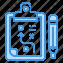 board, check, clipboard, list, pad, plan icon