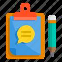 board, chat, check, clipboard, list, pad, write