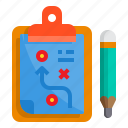 board, check, clipboard, list, pad, plan icon