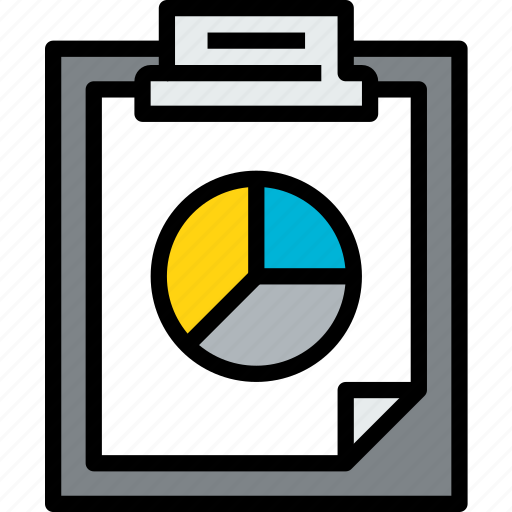business, clipboard, data, document, file, paper icon