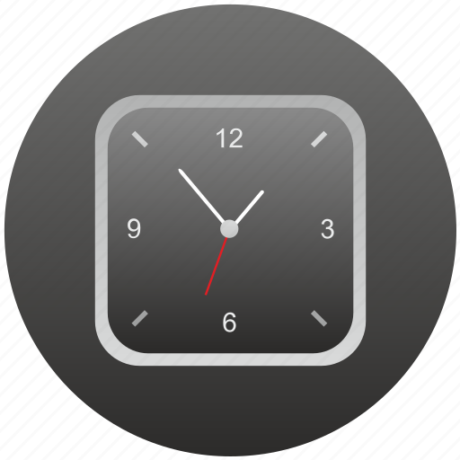 clocks, modern, time, watches icon