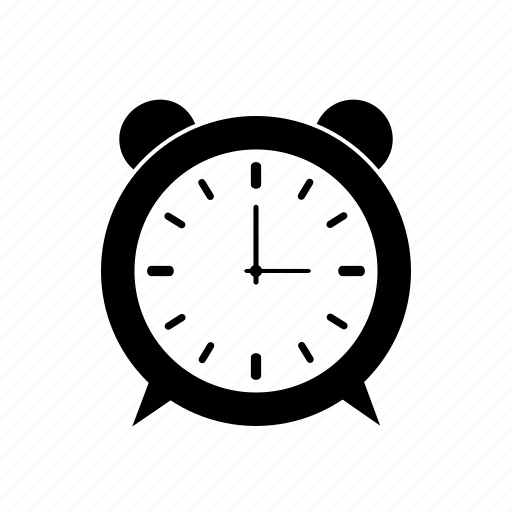 clock, full, ring icon