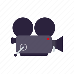 camera, cinema, entertainment, film, movie icon