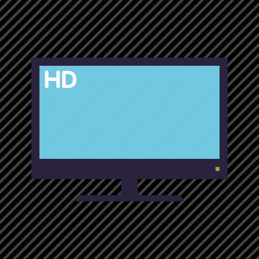 entertainment, flatscreen, hd, movie, television, tv set icon