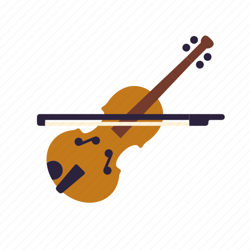 education, instrument, lessons, music, school, violin icon