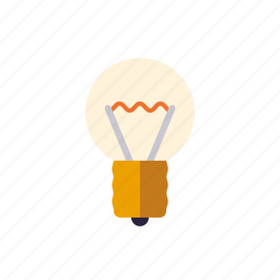 creativity, education, idea, light, lightbulb, school icon