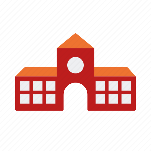 building, college, education, school, university icon