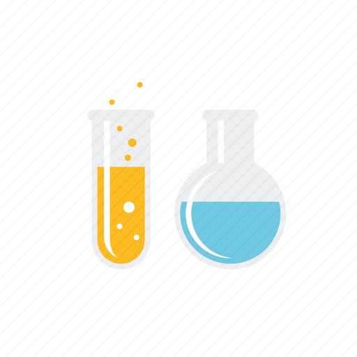 chemistry, education, equipment, laboratory, school, sciences, test tube icon