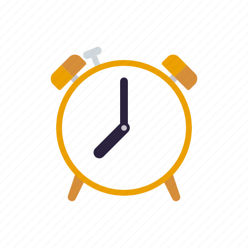 alarm clock, education, school, time, timer icon