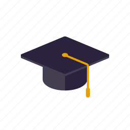 degree, education, graduation, hat, mortarboard, school icon