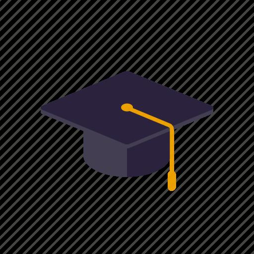 Degree, education, graduation, hat, mortarboard, school icon - Download on Iconfinder