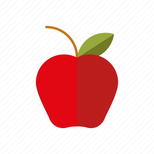 apple, education, food, fruit, healthy eating, lunch, school icon