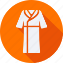 accessories, cloth, clothes, clothing, housecoat, man, woman icon