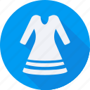 accessories, cloth, dress, long, man, sleeves, woman icon