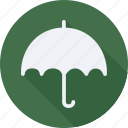 accessories, cloth, clothes, clothing, man, umbrella, woman icon