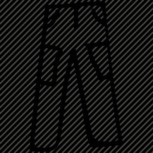 pants, trouser, trousers, wear icon