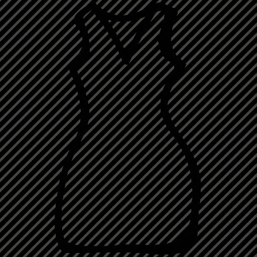 foundation, halter, jumper, slip, women's icon