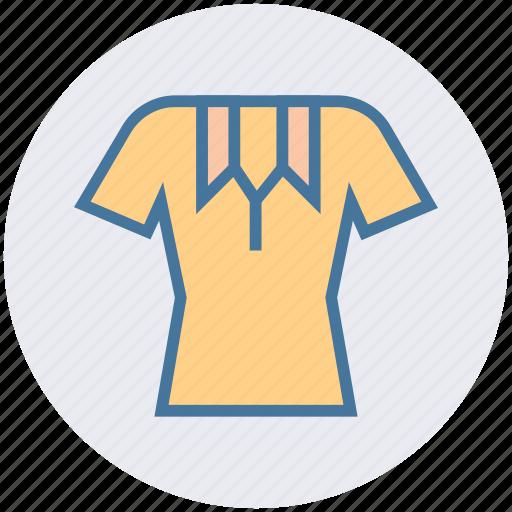 collar, collar shirt, polo, shirt, short sleeve, short sleeve polo shirt icon