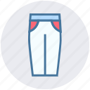 clothe, fashion, female, jeans, pent, trouser icon