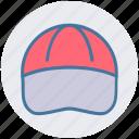 baseball cap, cap, cloth, fashion, player cap, worker icon