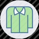 apparel, casual, clothe, collar, fashion, shirt icon