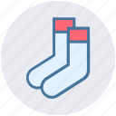 accessories, christmas, clothes, fashion, sock, socks icon