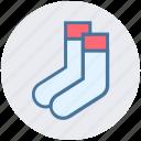 accessories, christmas, clothes, fashion, sock, socks