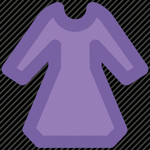 caftan dress, dress, fashion, female shirt, full sleeves, ladies tunic, women's clothing icon