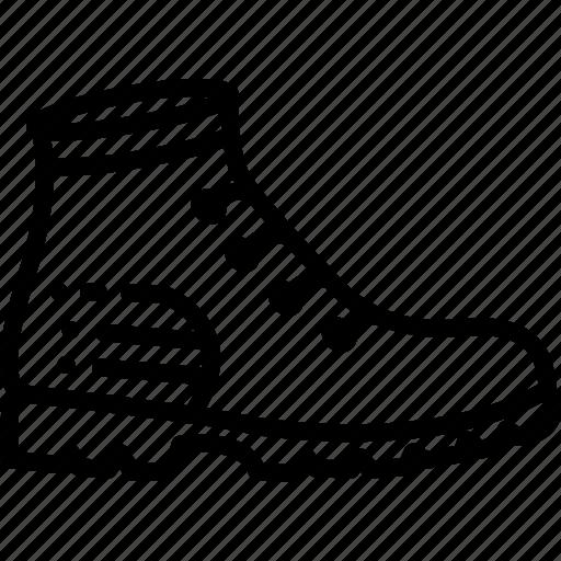 boots, footwear, shoes, waterproof icon
