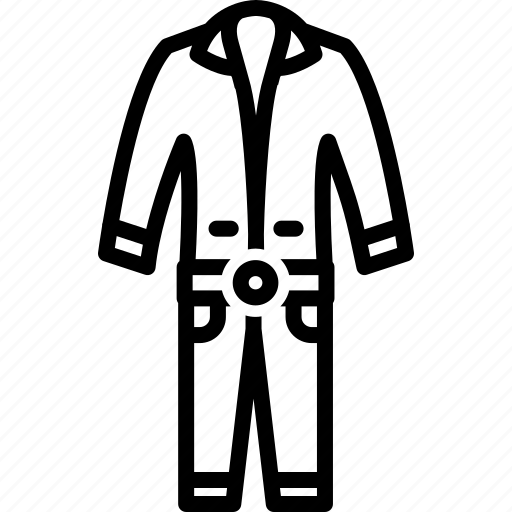 clothes, coveralls, overalls, template, workwear icon