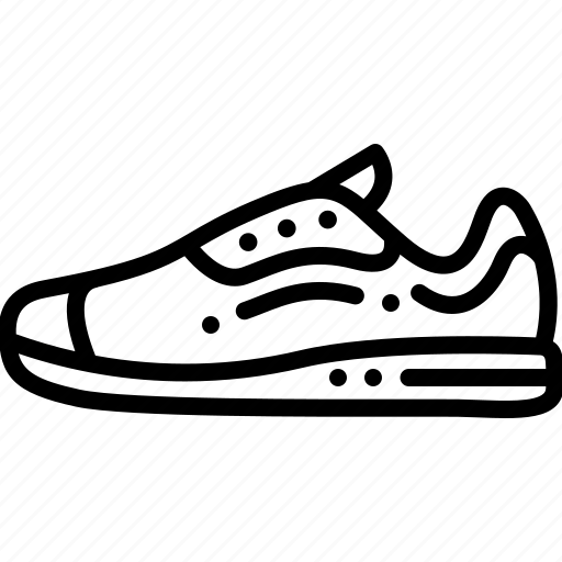 fashion, footwear, jogging shoes, shoes, sneakers icon