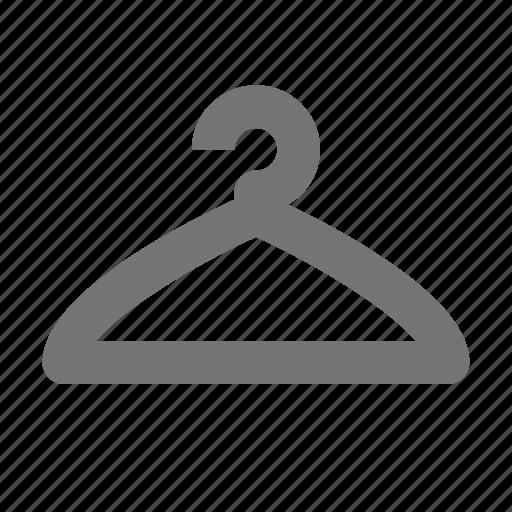 clothes hanger, hanger icon