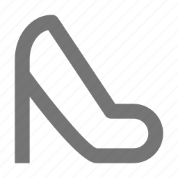 heel, high heel, shoe, shoes icon