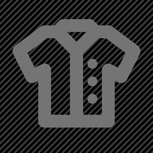 button shirt, shirt icon
